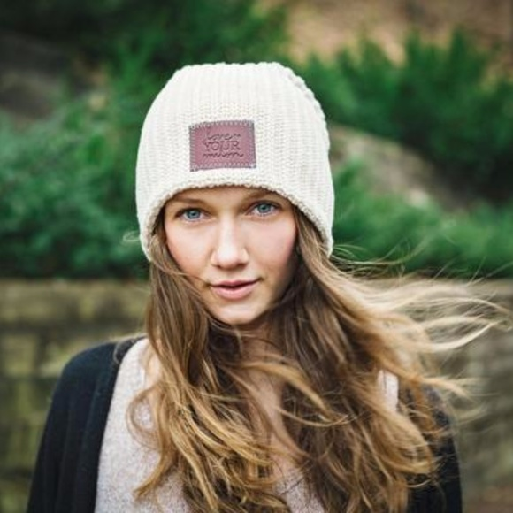 Love Your Melon Accessories - Love Your Melon Natural Beanie 21aee49e9